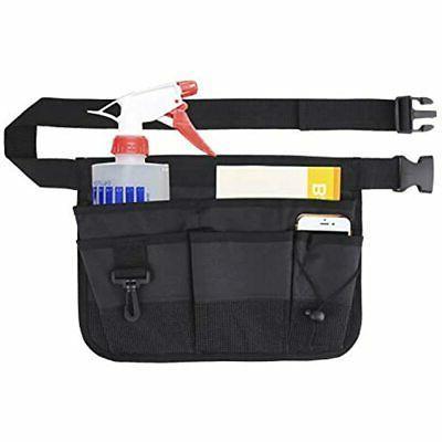 Gardening Tool Waist Bag Belt - Heavy Duty Oxford Tool Apron