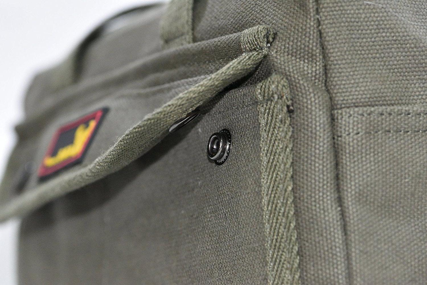 Government Issued Heavy with zipper side