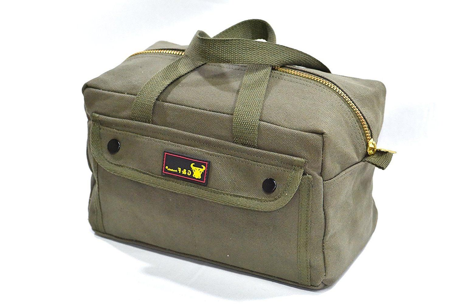 Government Issued Heavy Tool with Brass zipper side