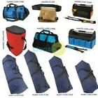 Heavy Duty Canvas Tool Bag Durable Handles Open Tote Hard Ba