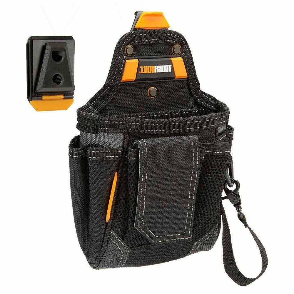 TOUGHBUILT Heavy Duty Cliptech Tool Belt 9-Compartment Wareh