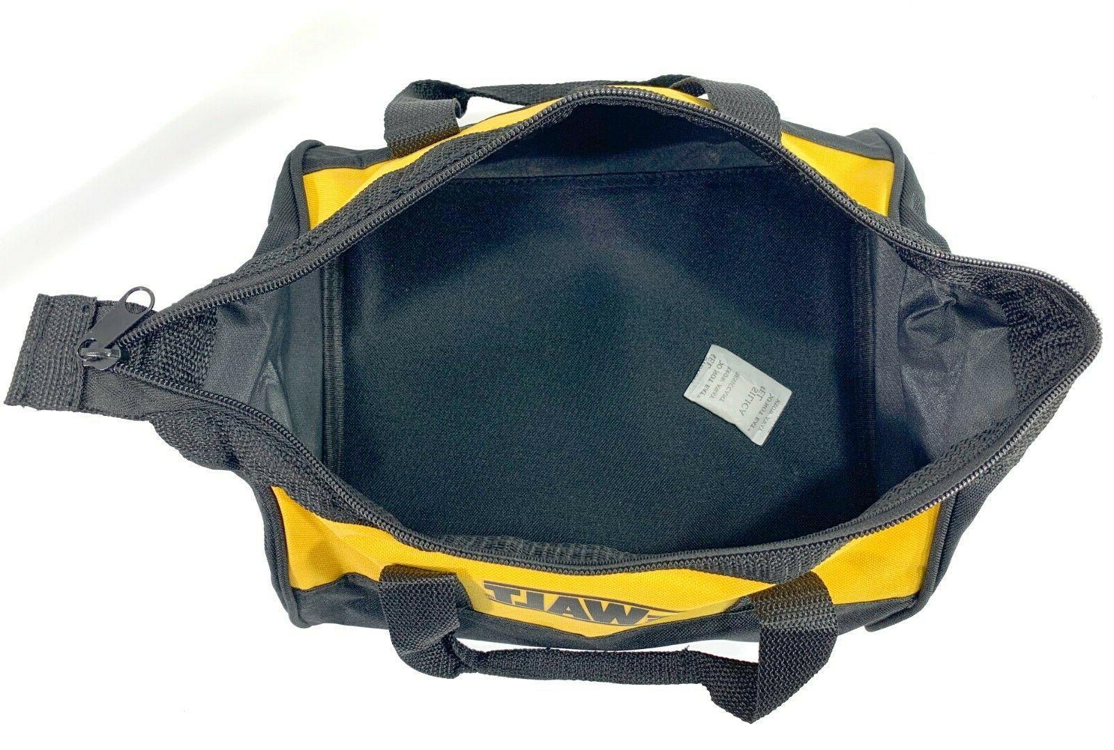 Dewalt Heavy Duty Double Zippered Tool Bag 9 x 7 NEW