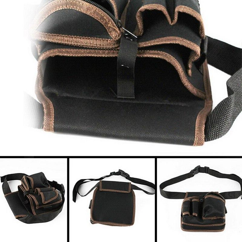 High <font><b>Canvas</b></font> <font><b>Bag</b></font> Pocket Pouch With Belt