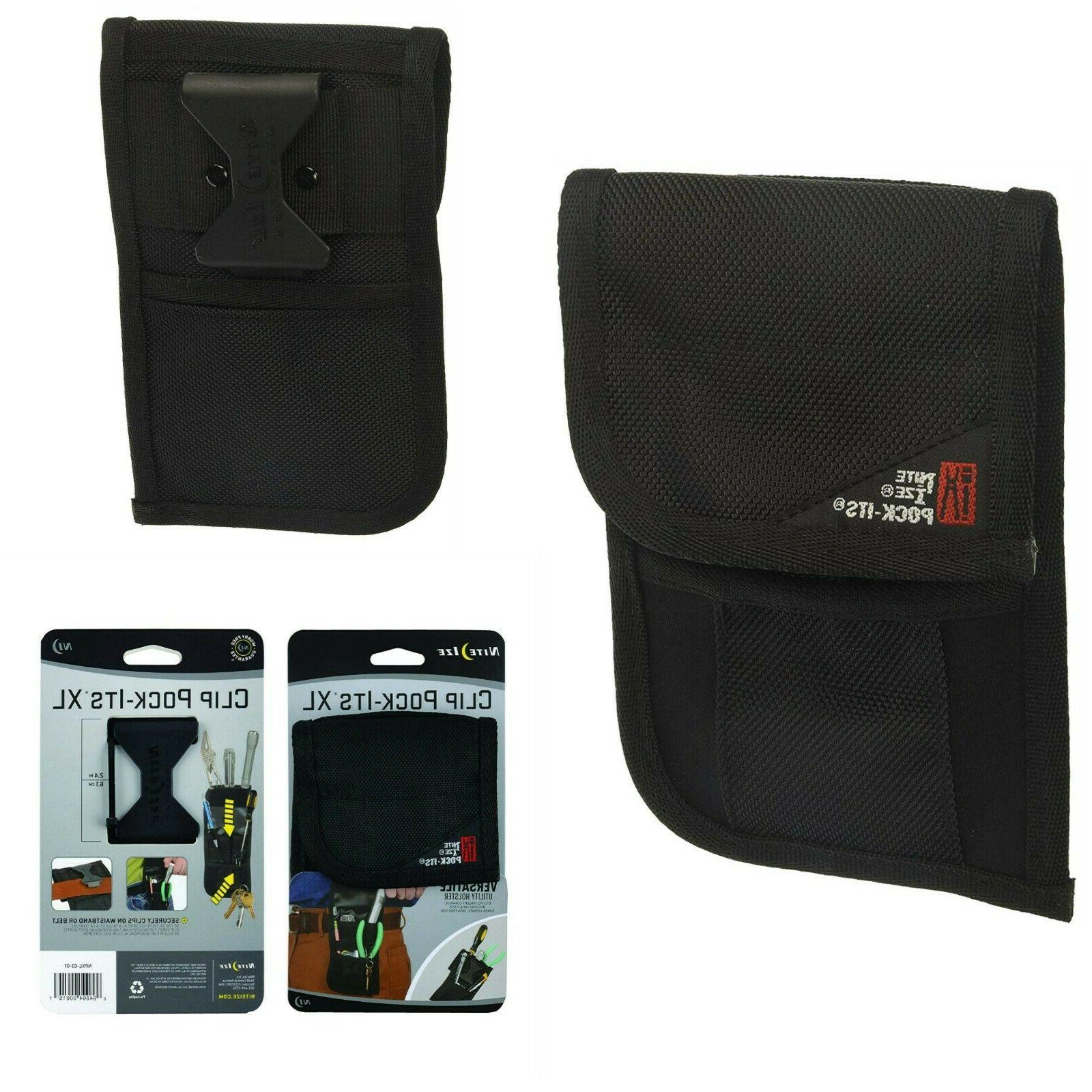 4-Pocket CLC Custom Leathercraft 1501 Poly Tool and Cell Phone Holder