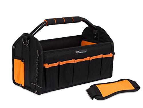 Internet's Open Top Electricians Stiff Tool Box | 16 Utility Tool 17