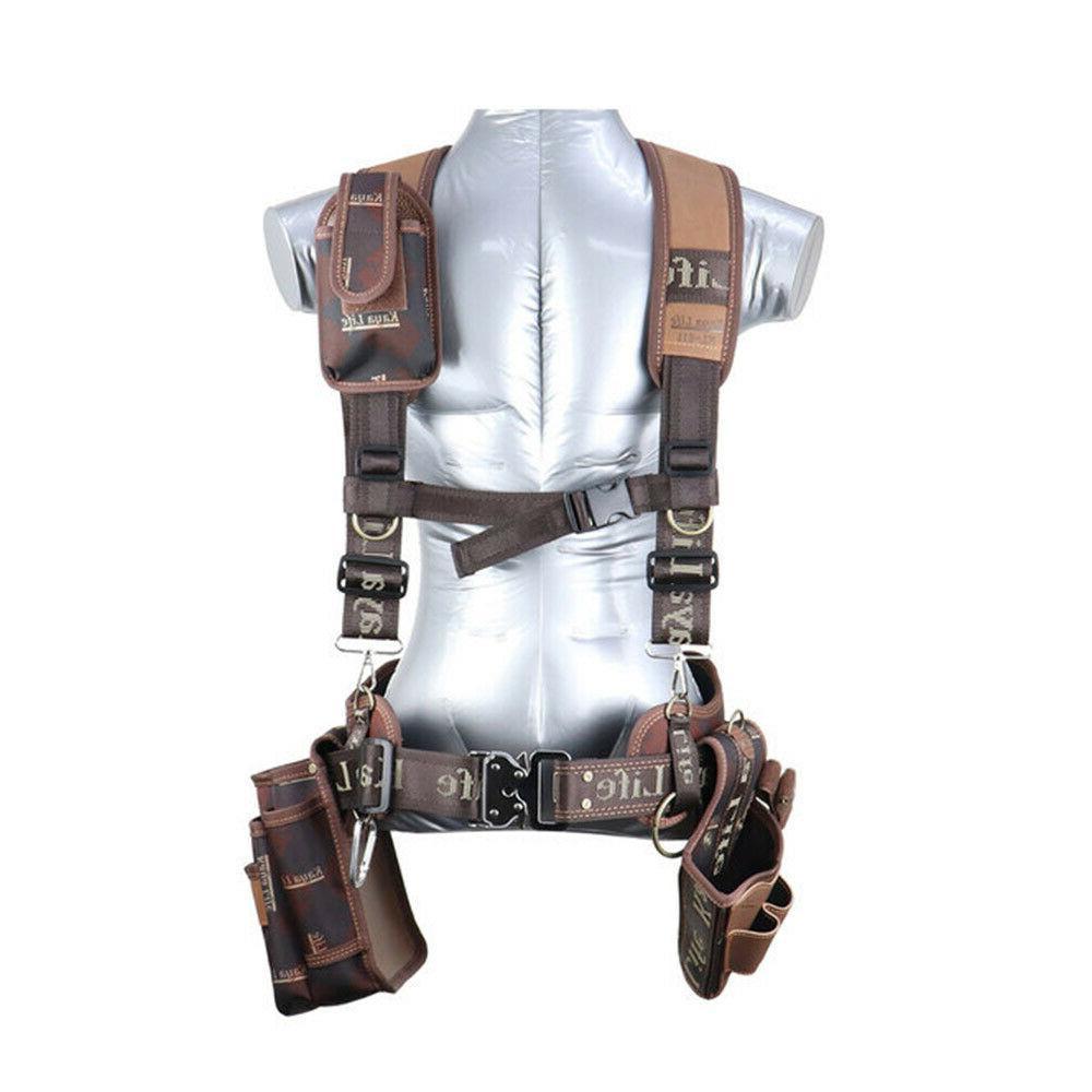 Kaya Life Tool Belt Suspenders Drill Bag