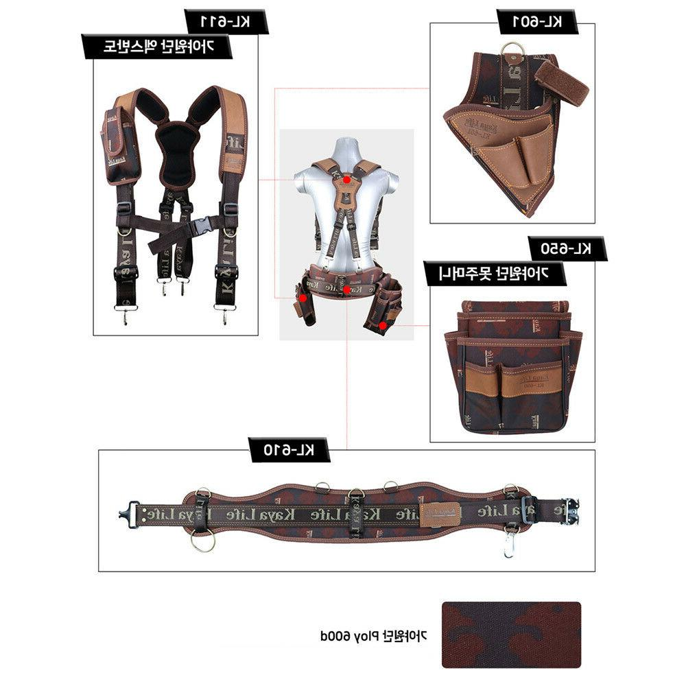 Kaya KL-600 Work Tool Belt Drill Holder Bag