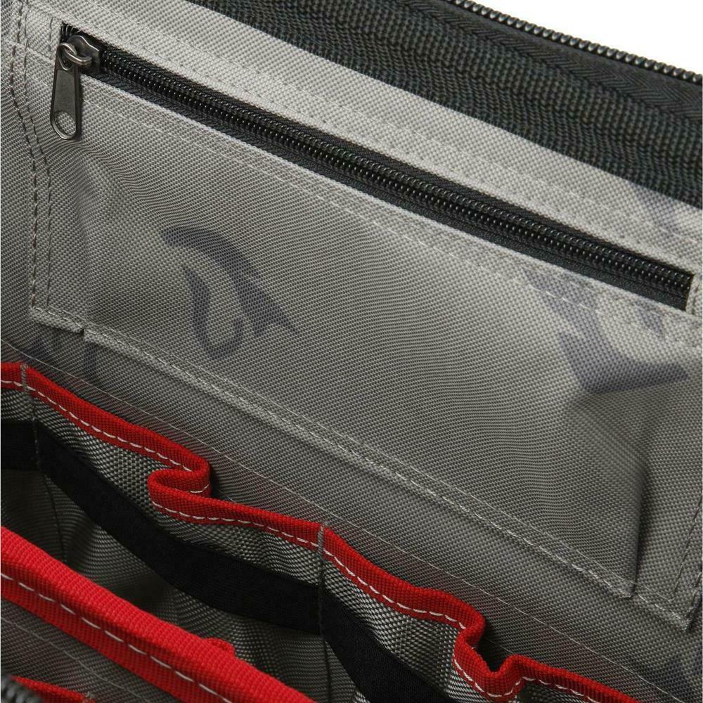 Husky Bag 18 Zippered Top Black