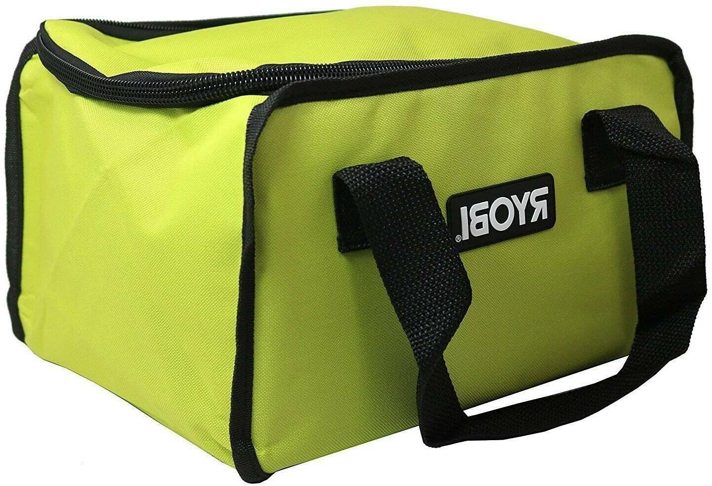 large tool bag yellow and green brand