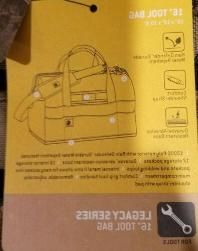 """Carhartt Legacy 16"""" Bag w/ Molded Base RealTree Xtra Cammo NEW with Tags"""