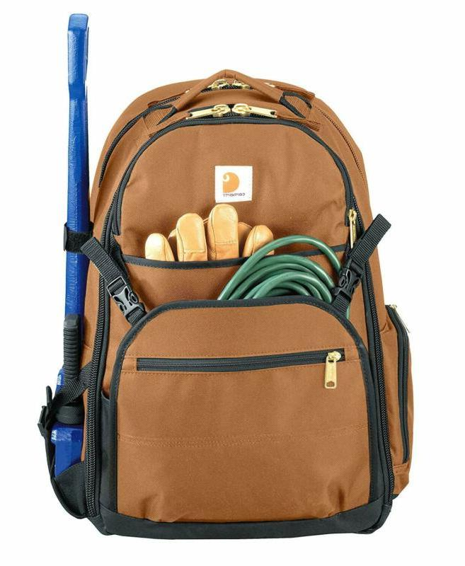 Carhartt Legacy Expandable-Front Backpack, Brown