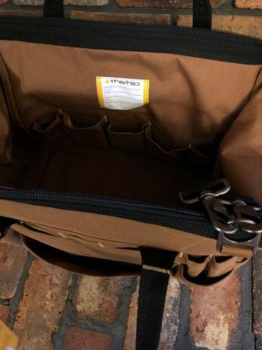 Carhartt Legacy Tool Bag 16-Inch, Jack Daniels Edition