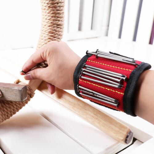 Magic Magnetic Wristband Bag Wrist Screws