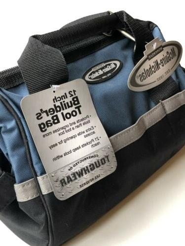 McGuire MN-22312 Bag Inch Zipper-Blue, W/ Extras