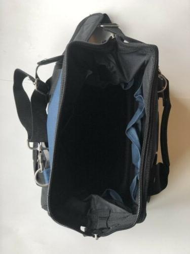 McGuire Nicholas Tool Bag Zipper-Blue, W/ Extras
