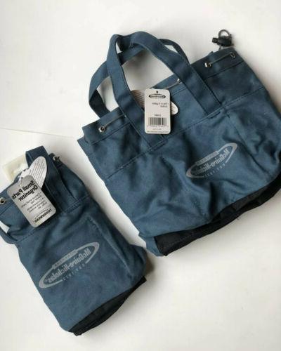 McGuire MN-22312 Bag 12 Zipper-Blue, Gray & W/