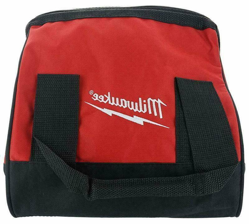 Milwaukee Heavy Duty Contractors Bag 11X11X10 Bags Belts Pou