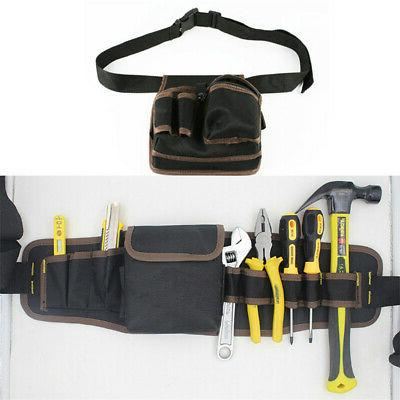 Multi Electrician Tool Bag Waist Pocket Pouch Belt Storage Holder