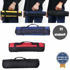 Multi-Purpose 22-Pocket Wrench Tool Bags Roll Up Bag Black B