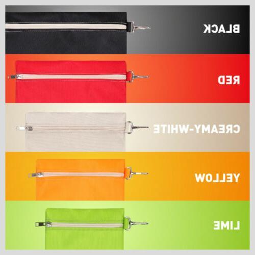 Multi-Purpose Zipper Set Organize Canvas Clip-On