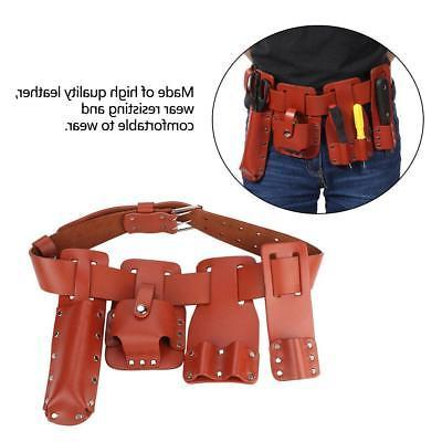 Multi Leather Real Tool Belt