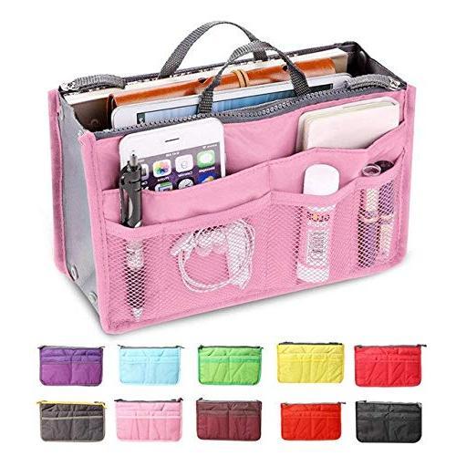 Multifunctional Bag Travel Bag Women Women Cosmetic Bag Organizer Zipper Pockets Makeup 5 Double