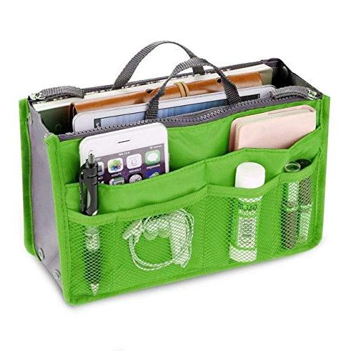 Multifunctional Travel Bag Travel Bag For Women Cosmetic Bag Organizer Bag In Double Zipper Portable Pockets Bag Double