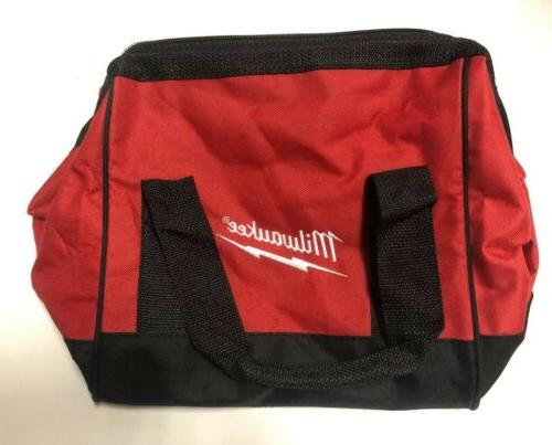 "NEW MILWAUKEE 10"" 10"" Small Contractors Bag Case"