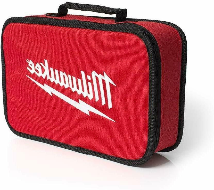 "NEW MILWAUKEE 7"" Tool Bag w/ Inside Mesh Pocket"