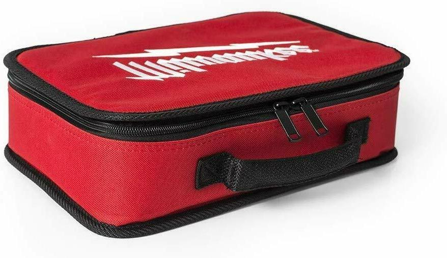 "NEW MILWAUKEE 12"" 7"" X 4"" Tool Bag Case w/ Inside Mesh"