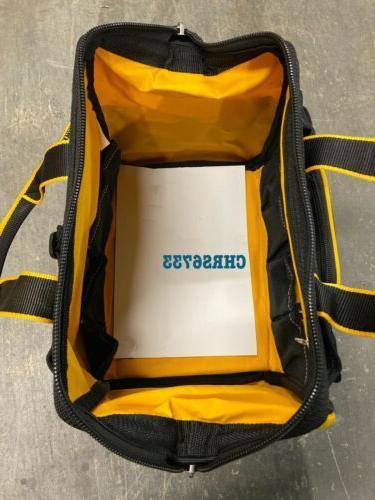 NEW DEWALT Pocket Duty Canvas Tool Bag