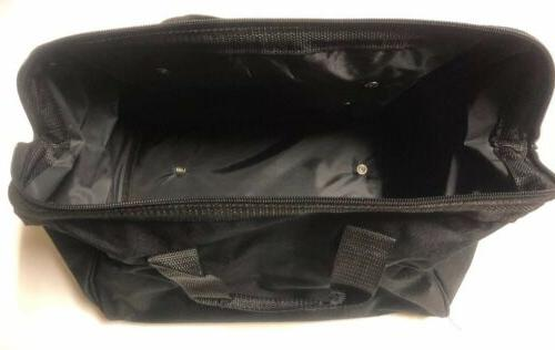 "NEW 11"" X Tool Bag With 3 Outer Pockets Skids"