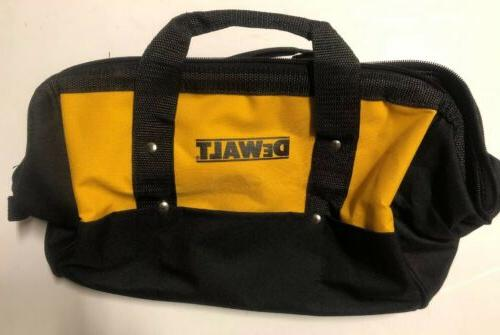 "NEW DEWALT 15"" X 11"" X Tool Bag With Outer Skids"