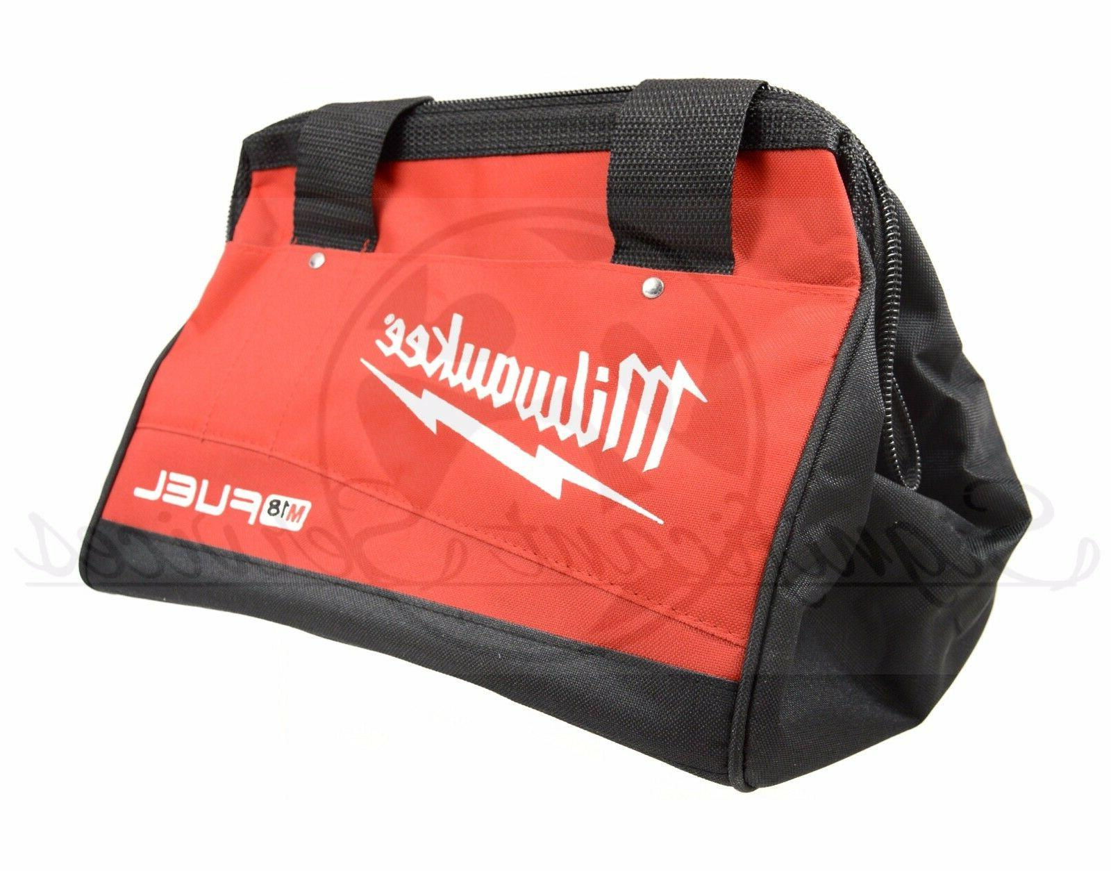 "New Milwaukee Fuel / M12 Duty Tool Bag 13"" 9"" 10"""