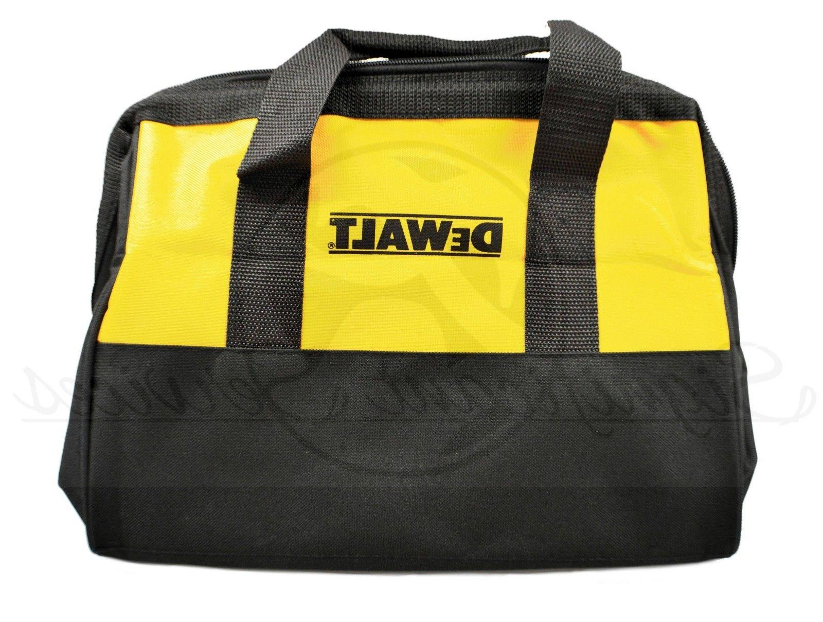 NEW DeWALT Canvas Contractor Tool Case X X 9""