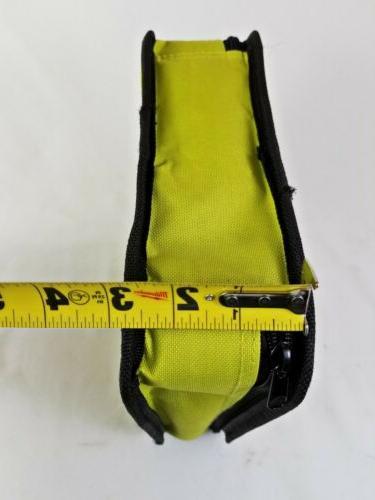 New Genuine Zipper Bag, 9in. x 9in.