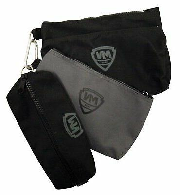 NEW McGuire Nicholas 3 Small Bags Two Black One Grey keep it