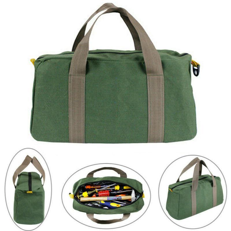 Mechanics Tool Bag Canvas Multi-function Storage Hardware Ba