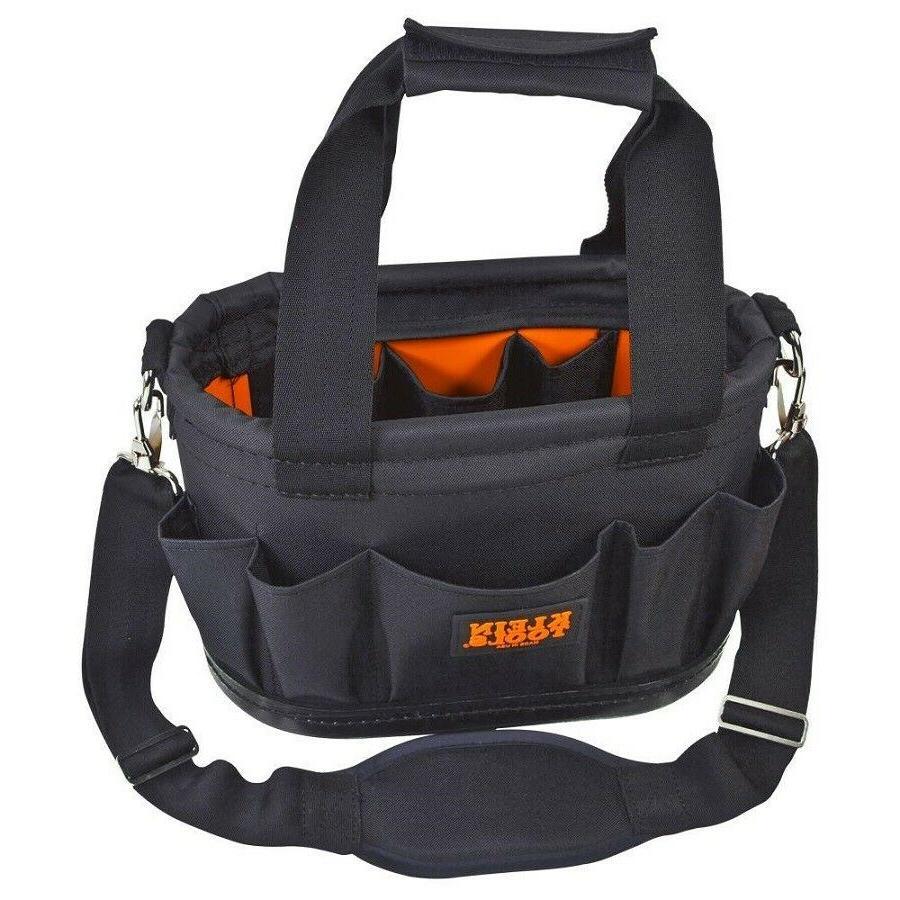 Klein Tools Organizer Storage Bag Tote Shoulder Strap Tool S