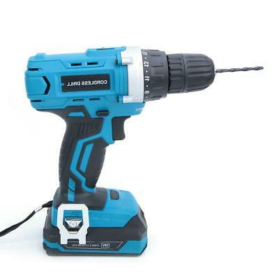 18V Electric Lithium Cordless Drill Professional With Tool