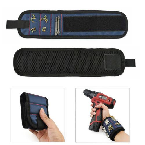 Portable Wristband Electrician Tool Belt Screws