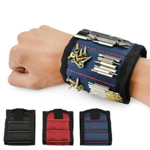 portable tool bag magnetic wristband electrician tool