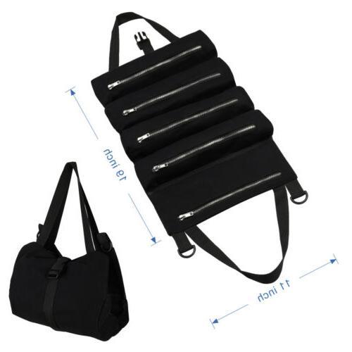 Tool Storage Zipper Bag Canvas Organizer Bag Tote Carrier To