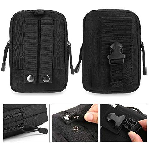 DOUN Outdoor Tactical Universal Multipurpose Tactical Cover EDC Security Pack Case Waist Bag iPhone plus Samsung LG Sony