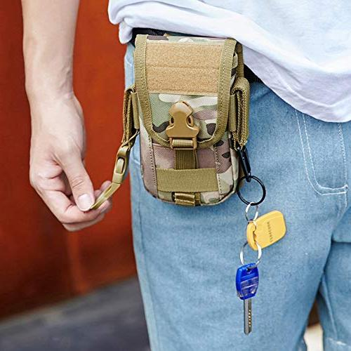 Tactical Phone Holder Holster Waist Bag Clip for Xs Plus Samsung S8 Edge