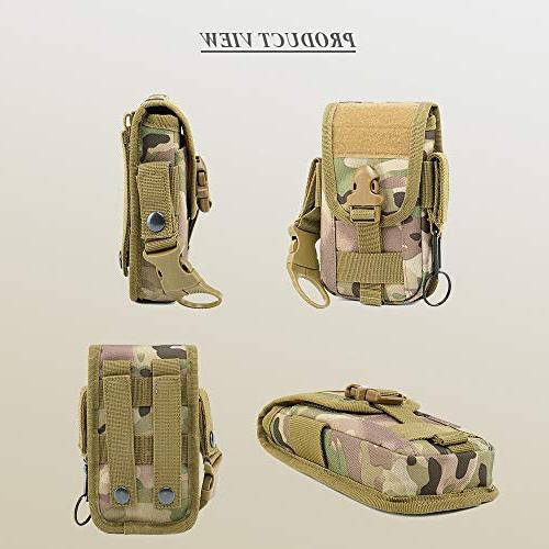 Tactical Molle Pouch Holder Holster Waist Clip Max 8 Samsung S8 Plus Edge Plus G6/G5