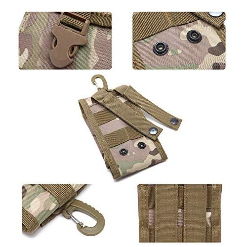 Tactical Pouch Pouch Carrying Case iPhone Max 8 7 Plus Money Pocket Samsung S8