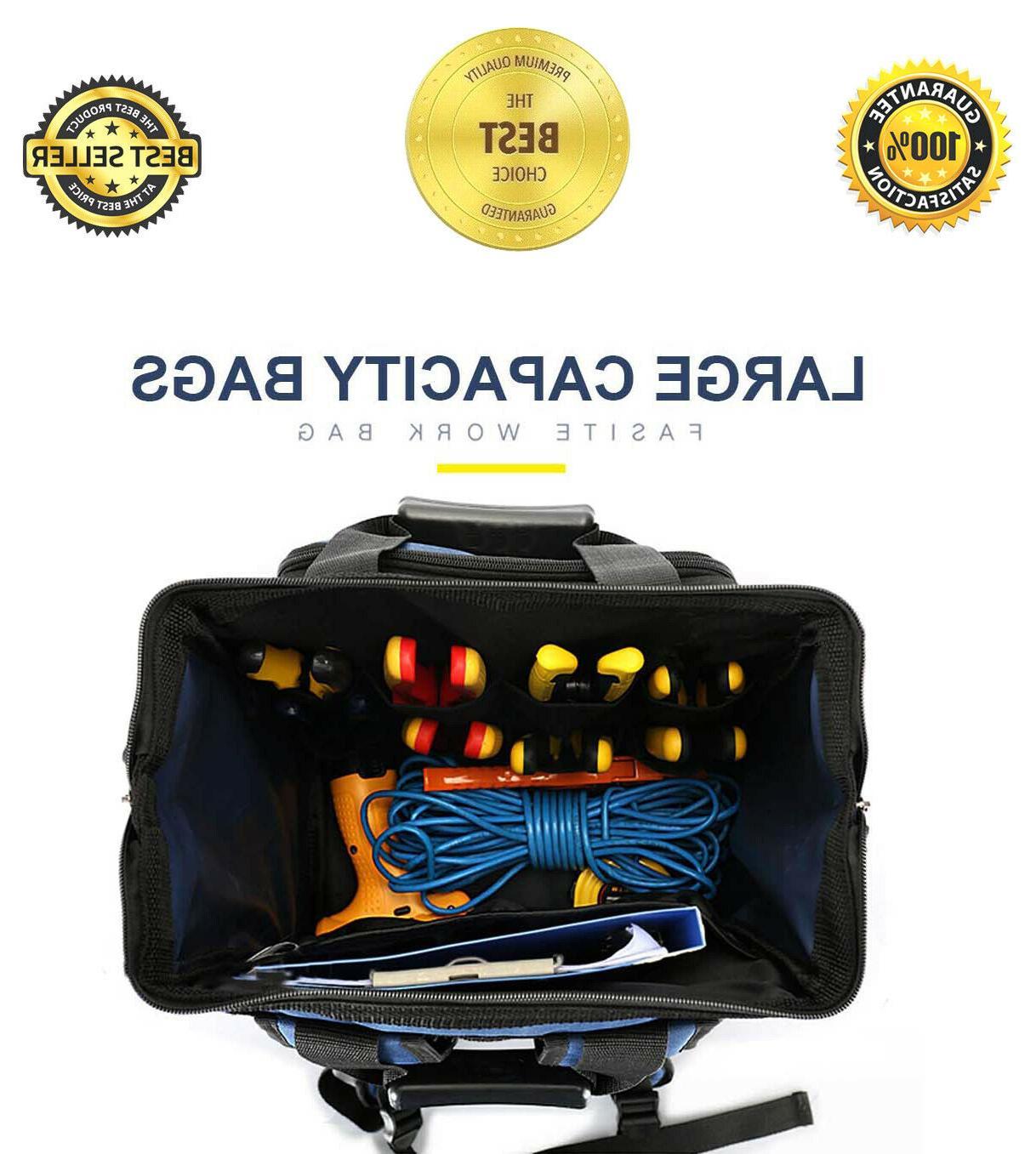 Tool Organizer Tools Bag Pockets Back Electrician HVAC