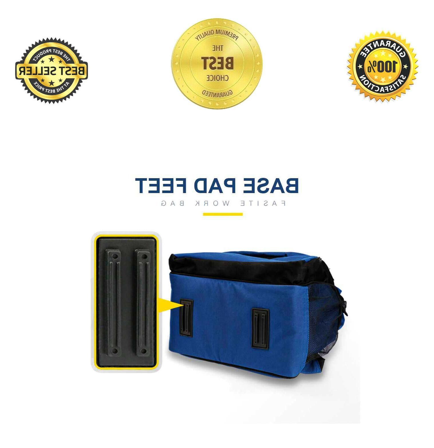 Tool Tools Bag Many Pockets Back Electrician