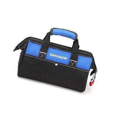 WORKPRO Bag 13-inch Zip-Top Wide for Tool Storage